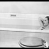 Girl in tub, etc., Southern California, 1932