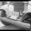 Close-ups of damage to front of Carnation Co. Truck, Johnson vs. Carnation Co., Southern California, 1940