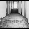 Stairway, Senator Apartments, Miss McClintock hurt, Metropolitan Casualty Co., Southern California, 1931