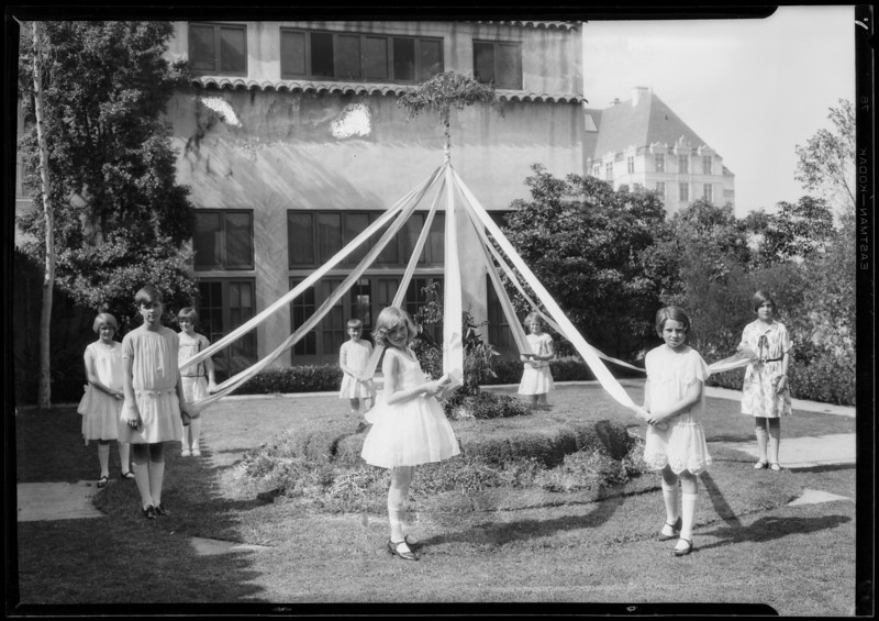 Mayday at Wilshire Country Club, Los Angeles, CA, 1927