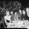 Christmas party in Cocoanut Grove, Los Angeles, CA, 1934