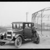 Chevrolet at Al Barnes Zoo, Culver City, CA, 1926