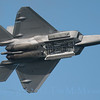F-22 Raptor - Payload doors open