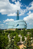 The Canadian Museum of Human Rights at The Forks in Winnipeg, Manitoba, Canada.