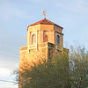 "Not on the park but nearby - a Tucson icon glowing in the ""Golden Hour"""