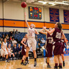 Wheaton College Women's Basketball vs University of Chicago (79-72)