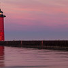 The Kenosha Pierhead Lighthouse