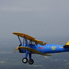 Clarence H., 95, and pilot Gale H., 80, flying in the PT-17 Stearman biplane