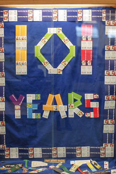 WOO 101 Years Display 13/3/2014