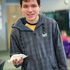 WOO Our Volunteer Colin Enjoying Cake 13/3/2014