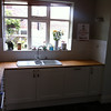 Kitchen worktop repair and oiling by www.harrisonwoodowrk.com in urmston manchester