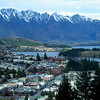 The view of Queenstown from the Skyline gondola.