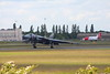 XH558 landing safely<br /> By Clive Featherstone.