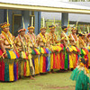 Women dancers in Tomil on Yap Day 2014