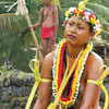 Yap Day 2014 in Tomil:  Young woman dancer