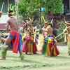 Bamboo dance in Tomil (Yap Day 2014)