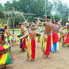 Bamboo dance, Yap Day 2014, Tomil