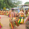 Women dancers departing, Yap Day 2014 in Tomil