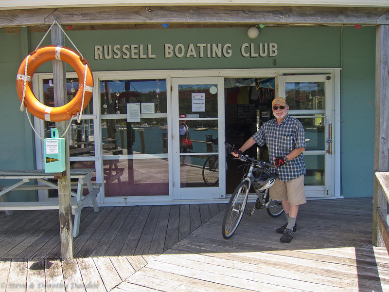 Steve bicycled most days from the docks of the RBC.