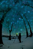 """ Listening "" __0928Nv<br /> <br /> A recent walkabout found us enveloped and enchanted by the stars....<br /> Even the trees seemed to lean in for a closer listen...<br /> ."