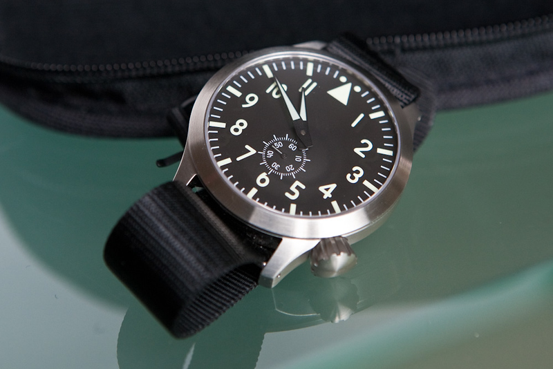 The Maratac Pilot Automatic Watch