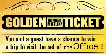The Office Golden Ticket