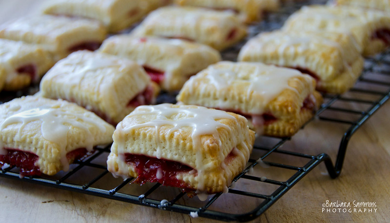 Strawberry-Raspberry Tarts