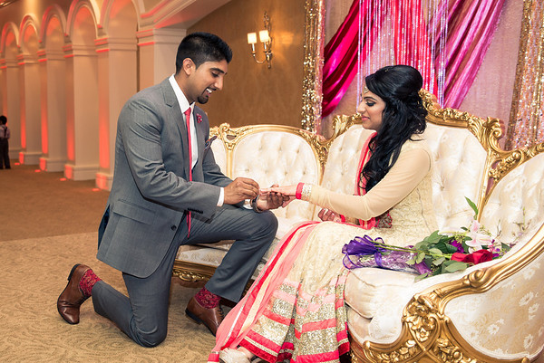 Aman + Navi Engagement