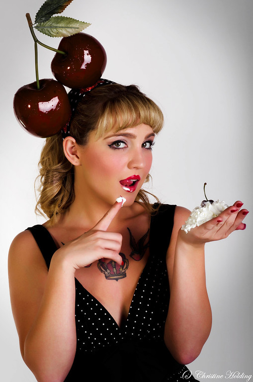 Pinup Shoot with Kim Nygard 2012