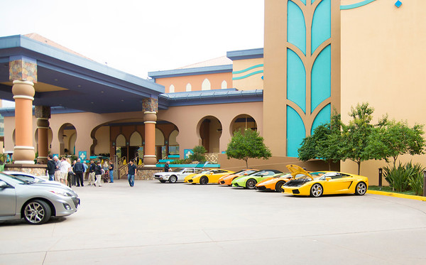 Sycuan Hosts Lamborghini Club