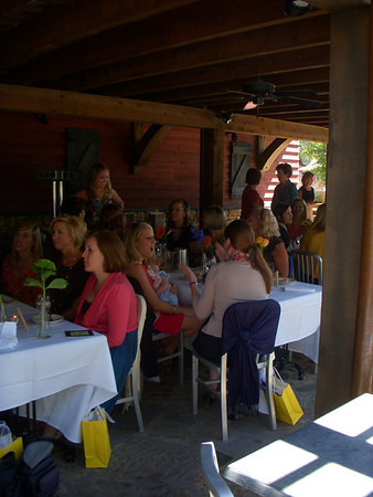 Bridesmaid Luncheon at Catherine's Market at Russell Crossroads