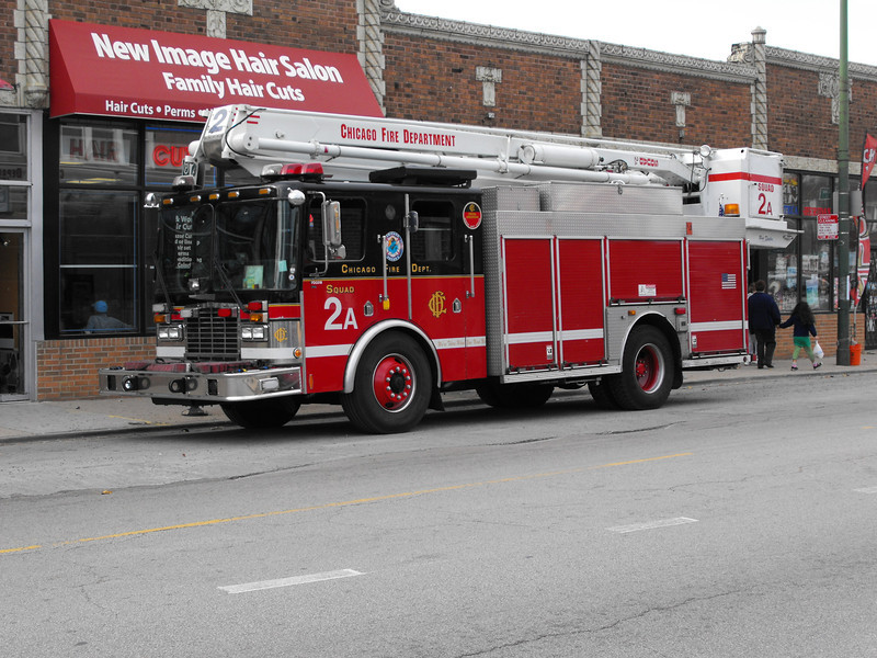 Chicago Fire Department  Squads and Snorkels