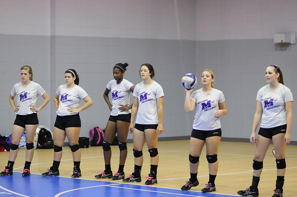 Millsaps Volleyball 2012