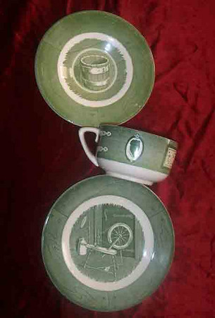 Colonial Homestead Dinnerware set