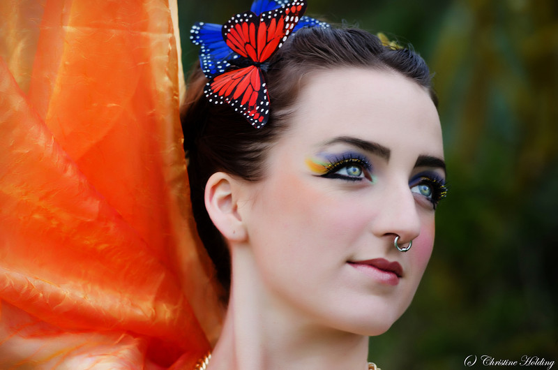 Lucy South Birds of Paradise Photo Shoot 2011