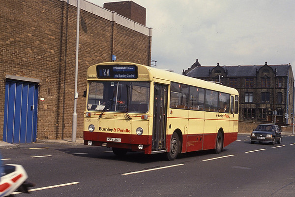 Burnley and Pendle Buses and Coaches 1980's and 1990's