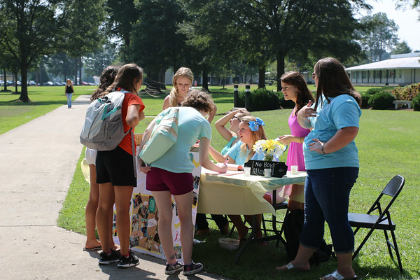 Student Involvement Fair 2014