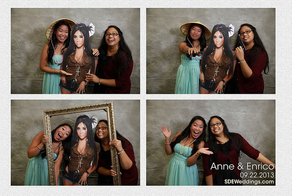 Anne + Enrico Wedding Photobooth (09/22/2013)