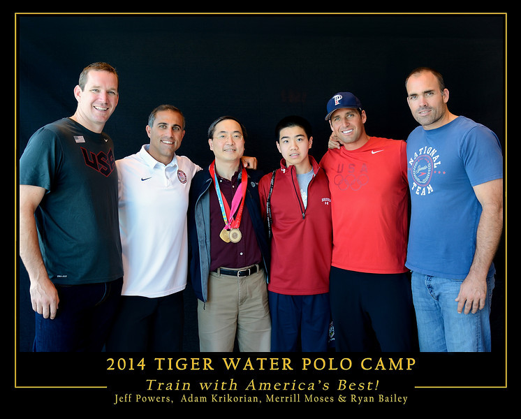 Tiger Water Polo - Olympian Clinic 2014