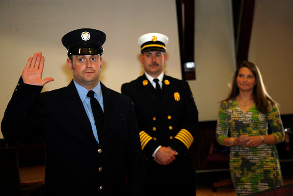 Gloucester Public Safety Badge Ceremony, City Hall, 5/2/2013 - Police and Fire Depts