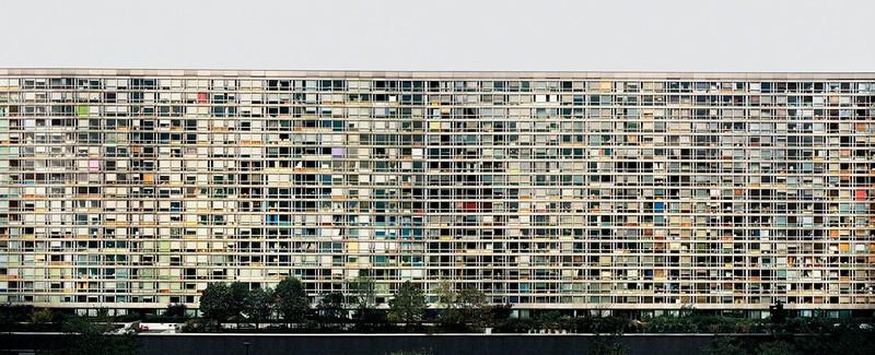 Andreas Gursky - Paris, Montparnasse, 1993.