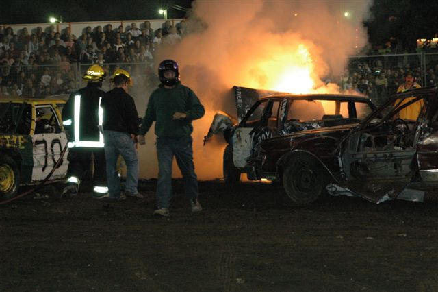 2005 Oct 1, Caledonia Demo Derby Saturday Night