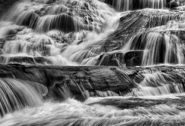 Rivers, Lakes & Waterfalls (B&W)