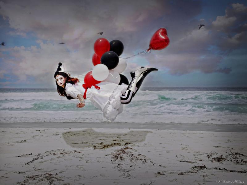Tamilla Swanson Pierrot Clown Shoot 2013