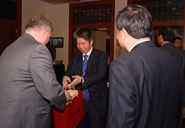 092314 AK Nankai University, Binhai College Delagation visit