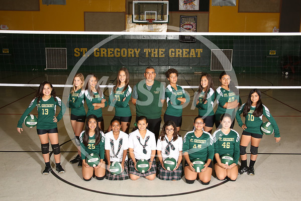 St Gregory Charger Volleyball