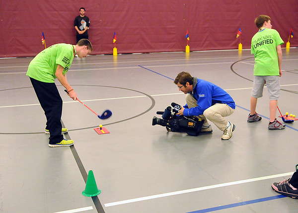 Special Olympics student-athletes participate in Fall Schools' Sports Expo  2013