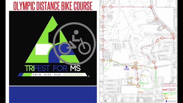 TriFest for MS Bike Course Maps 2013