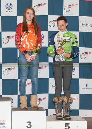 Podiums - Day 1