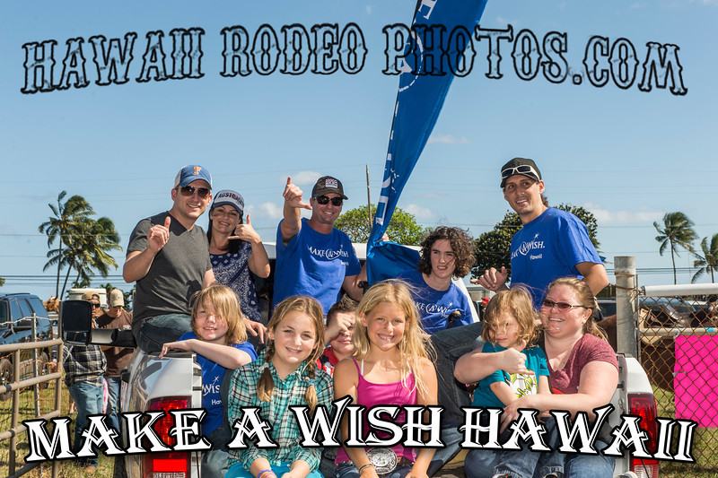 ROPE-FOR-WISHES KUALOA RODEO JANUARY 4 2014